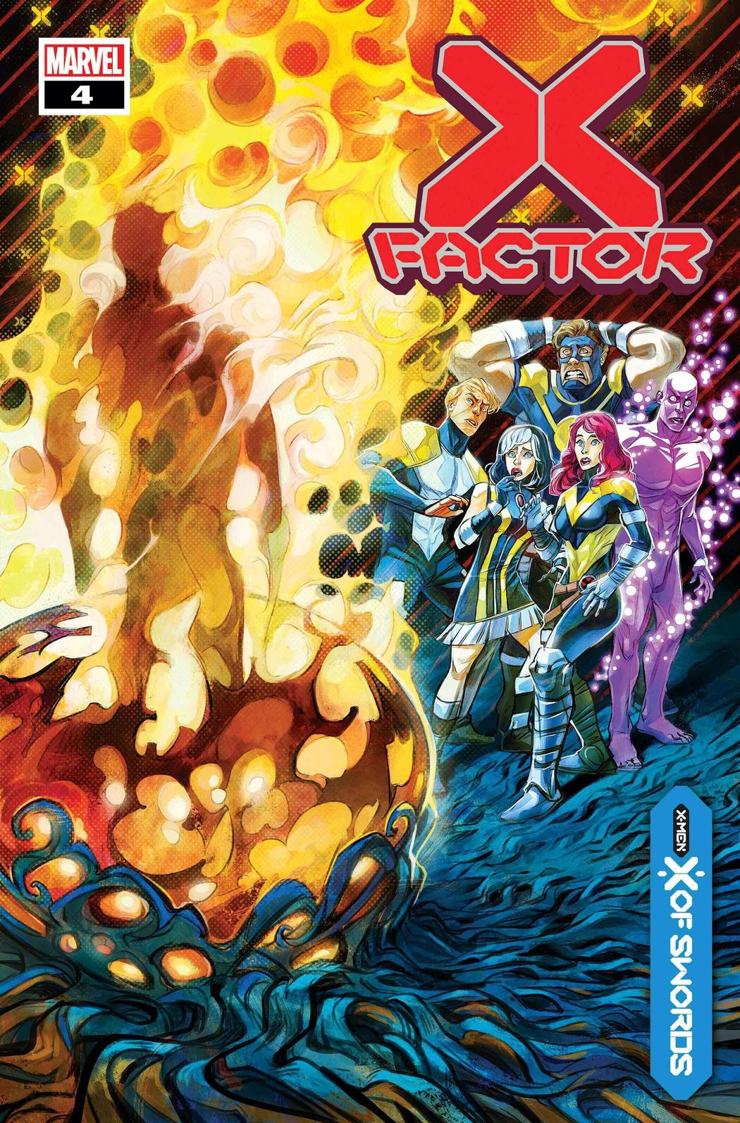 X-FACTOR #4 WRITTEN BYLEAH WILLIAMS, ART BY CARLOS GOMEZ, COVER BY IVAN SHAVRIN