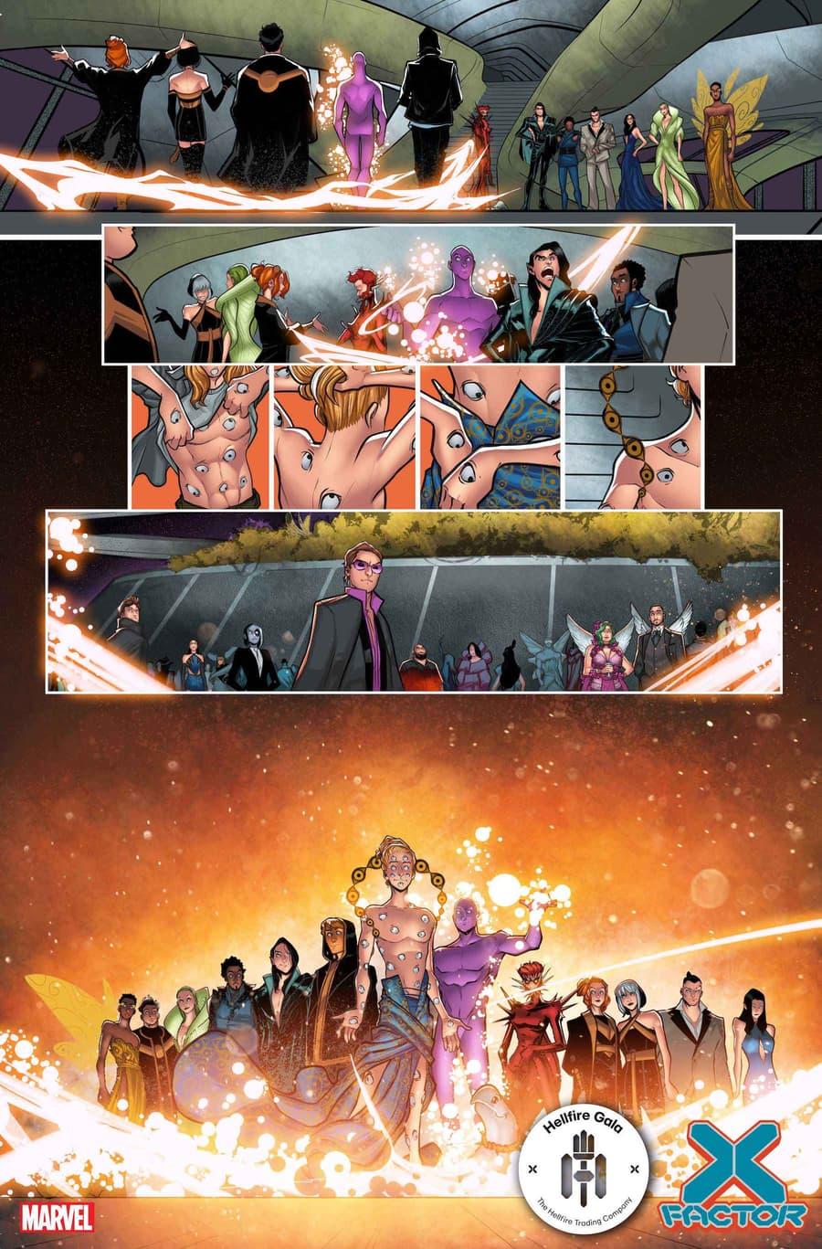 X-FACTOR #10 preview art by David Baldeón and Israel Silva