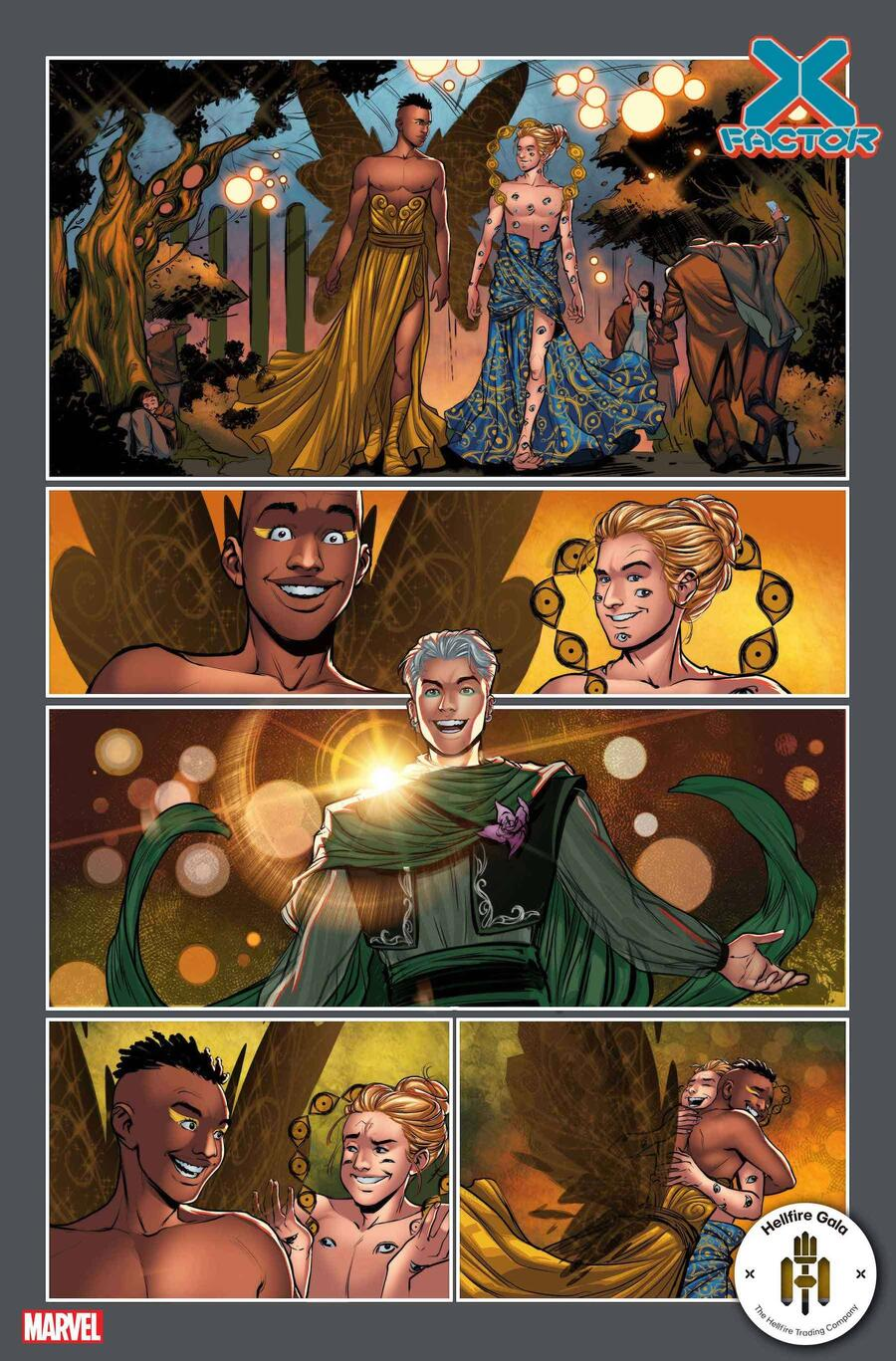 X-FACTOR #10 preview art by Lucas Werneck and Israel Silva