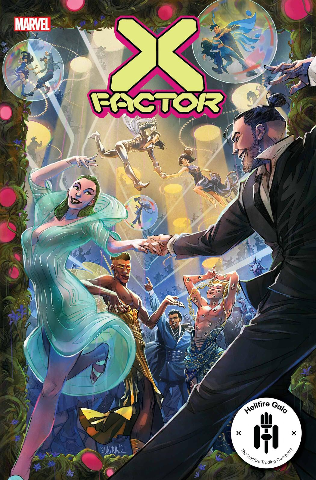 X-FACTOR #10 cover by Ivan Shavrin