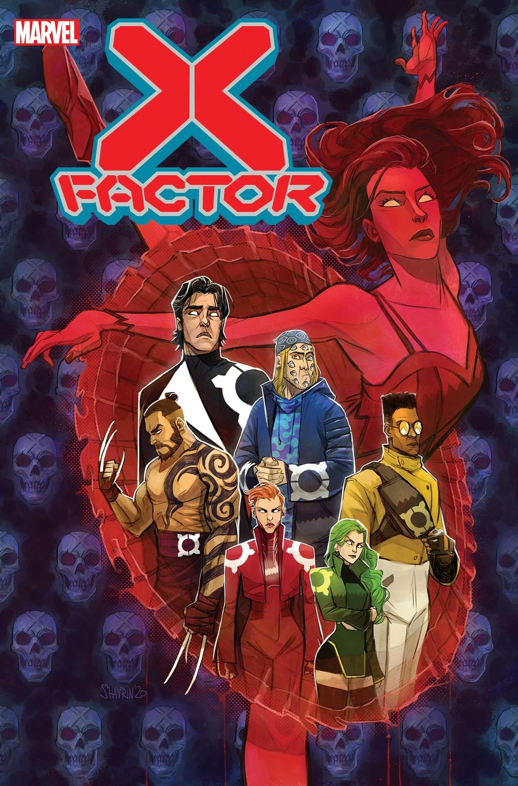 X-FACTOR #2 cover by Ivan Shavrin
