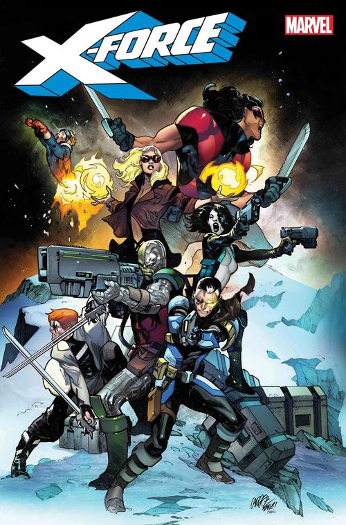 X-Force #1 cover by Pepe Larraz