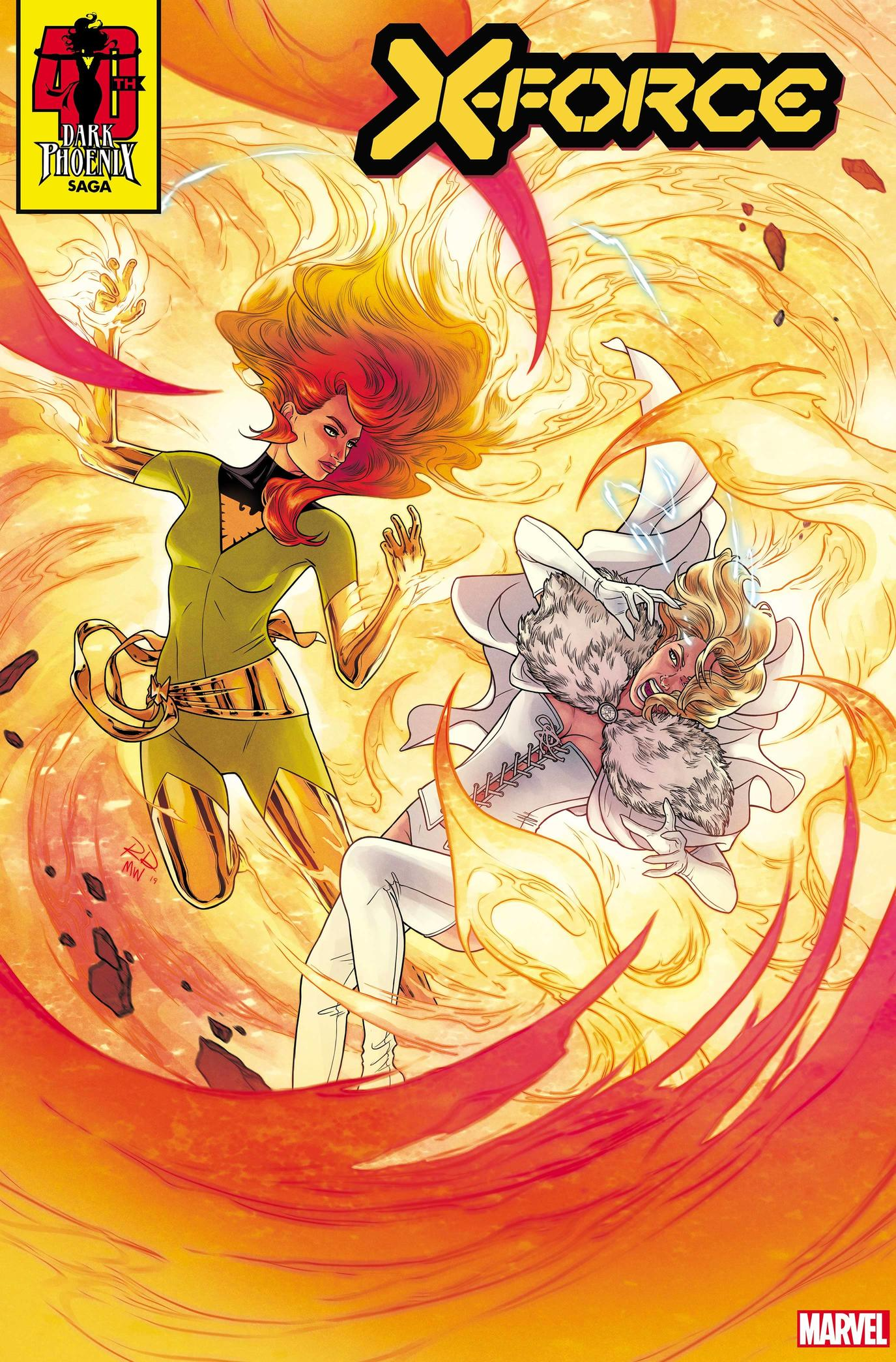 X-FORCE #5 DARK PHOENIX SAGA 40TH ANNIVERSARY VARIANT