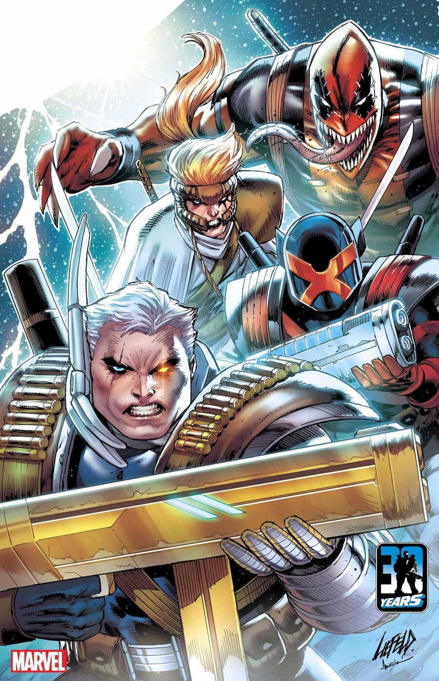 X-FORCE: KILLSHOT #1 cover by Rob Liefeld