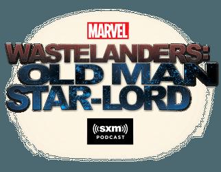 Marvel's Wastelanders: Old Man Star-Lord Logo