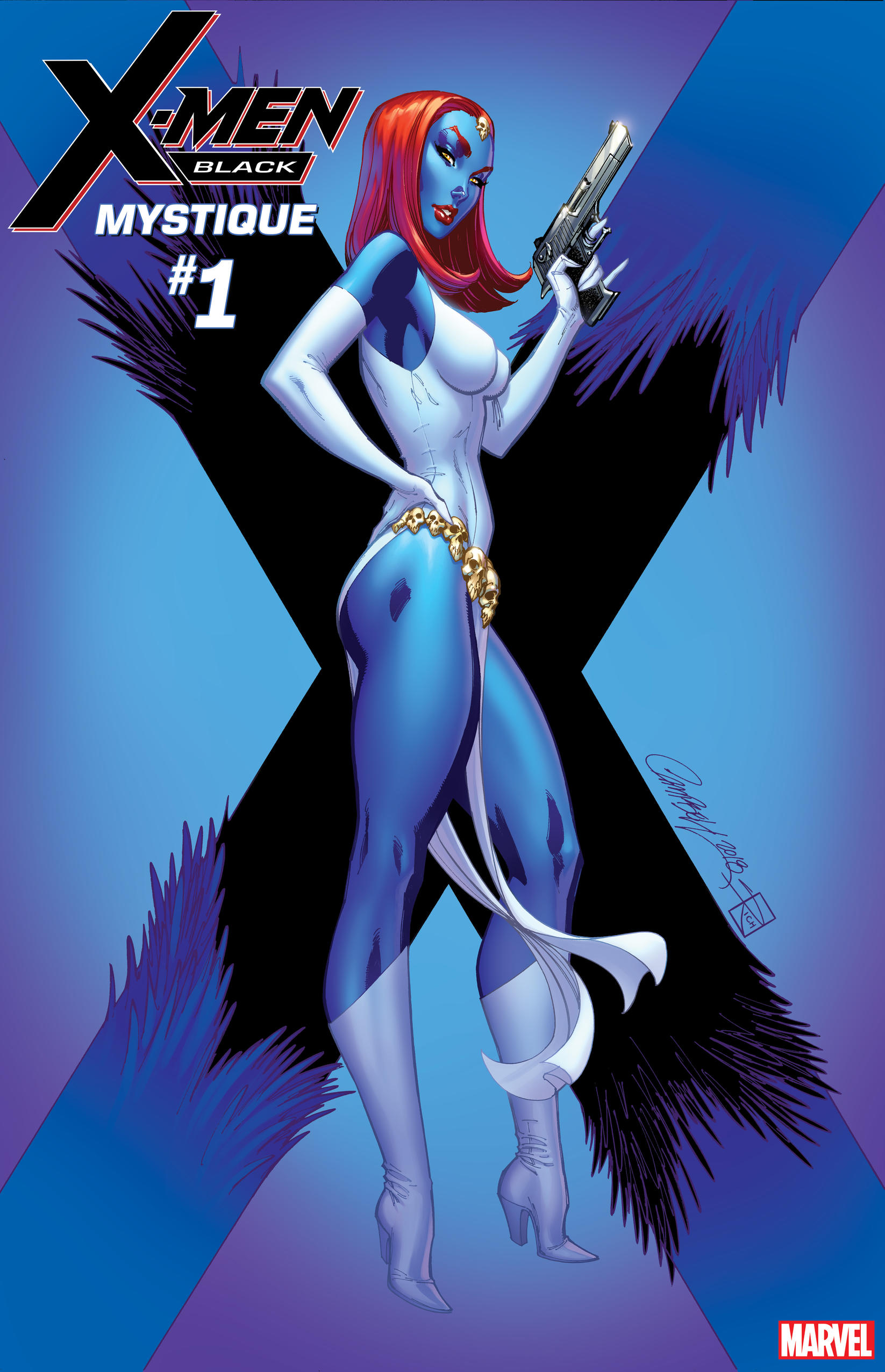 Cover of X-Men Black Mystique