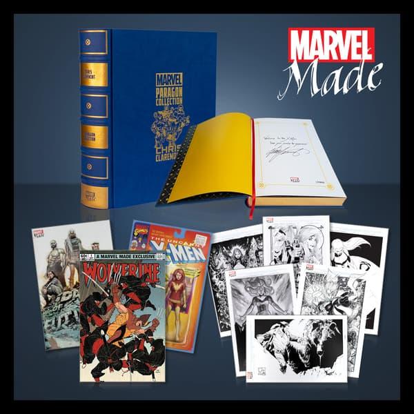 Marvel Insider MARVEL MADE: PARAGON COLLECTION CHRIS CLAREMONTPREMIER BUNDLE GIVEAWAY