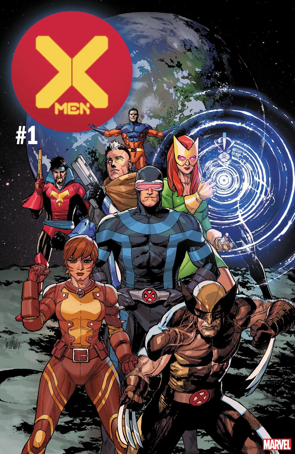 X-MEN #1 cover by Leinil Yu