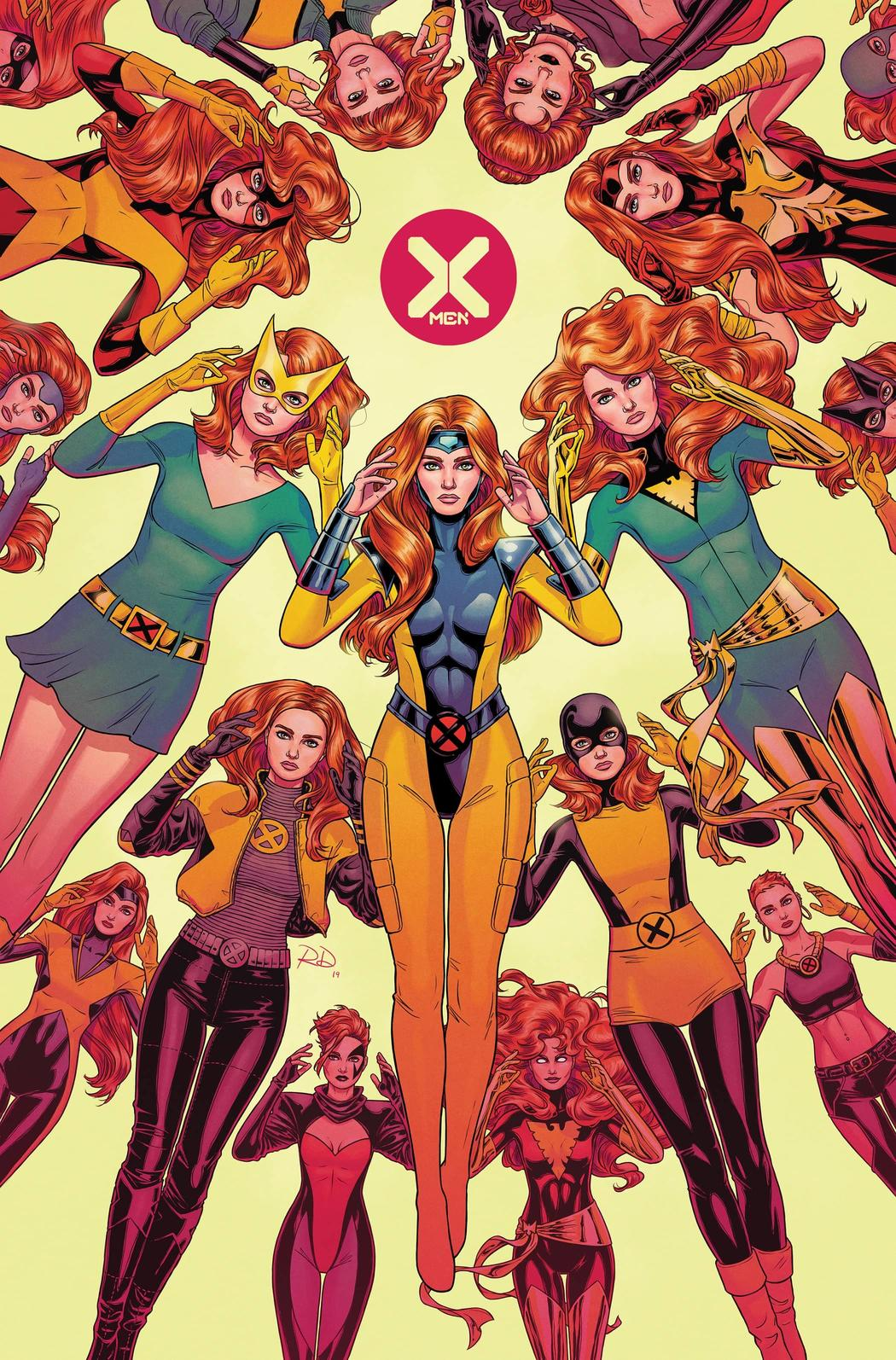 X-MEN #1 variant art by Russell Dauterman