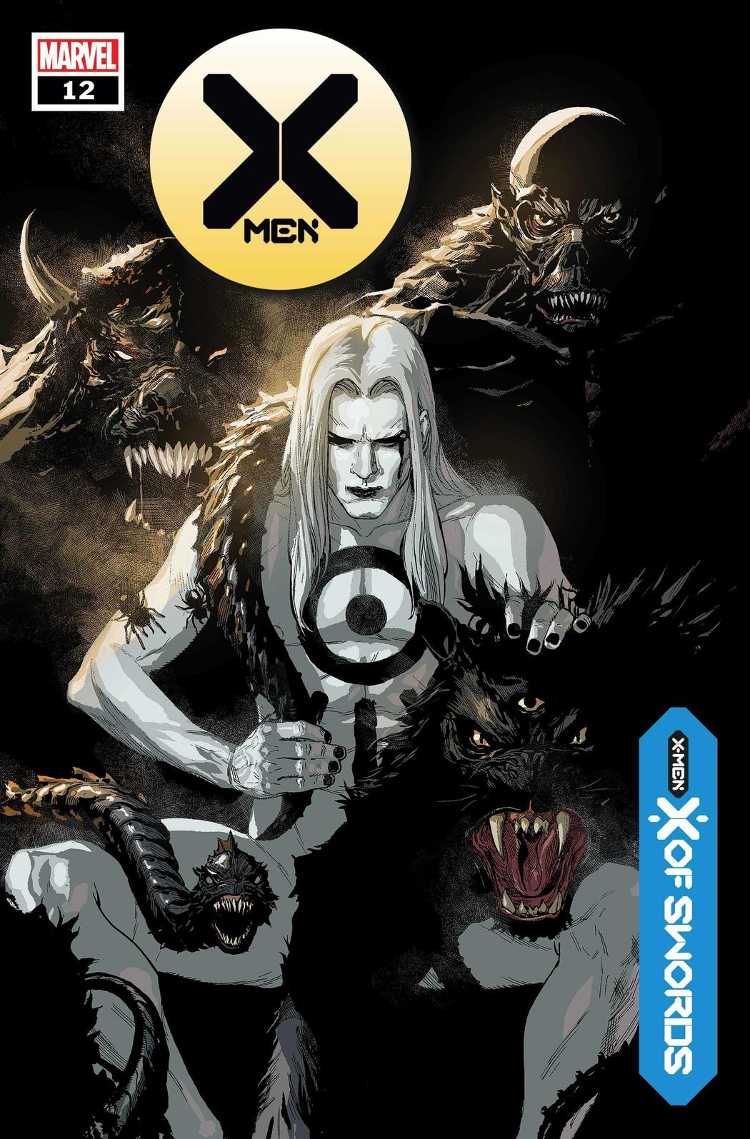X-MEN #12 WRITTEN BYJONATHAN HICKMAN, ART AND COVER BYLEINIL FRANCIS YU