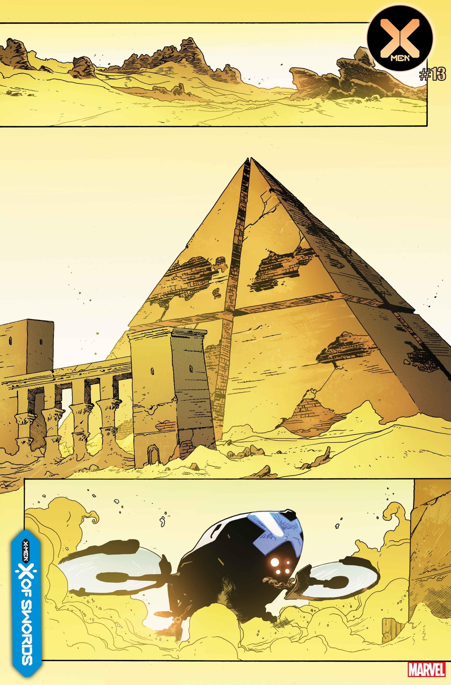 X-Men #13 preview by Mahmud Asrar