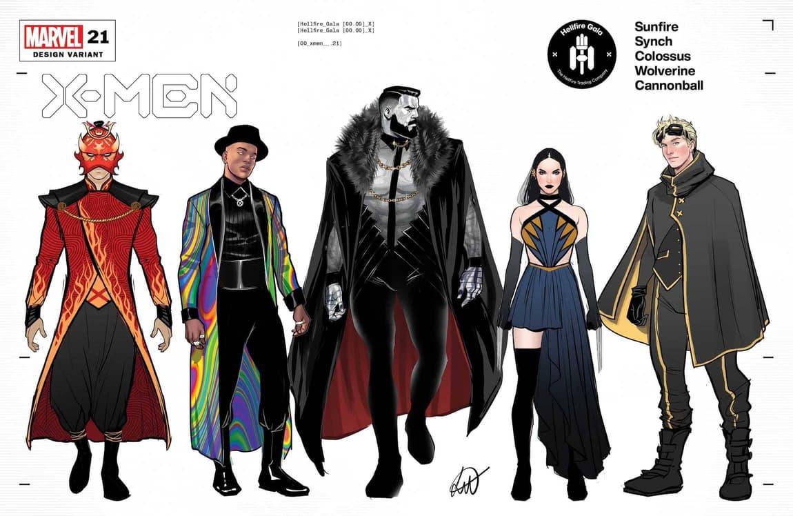 X-Men #21 design variant