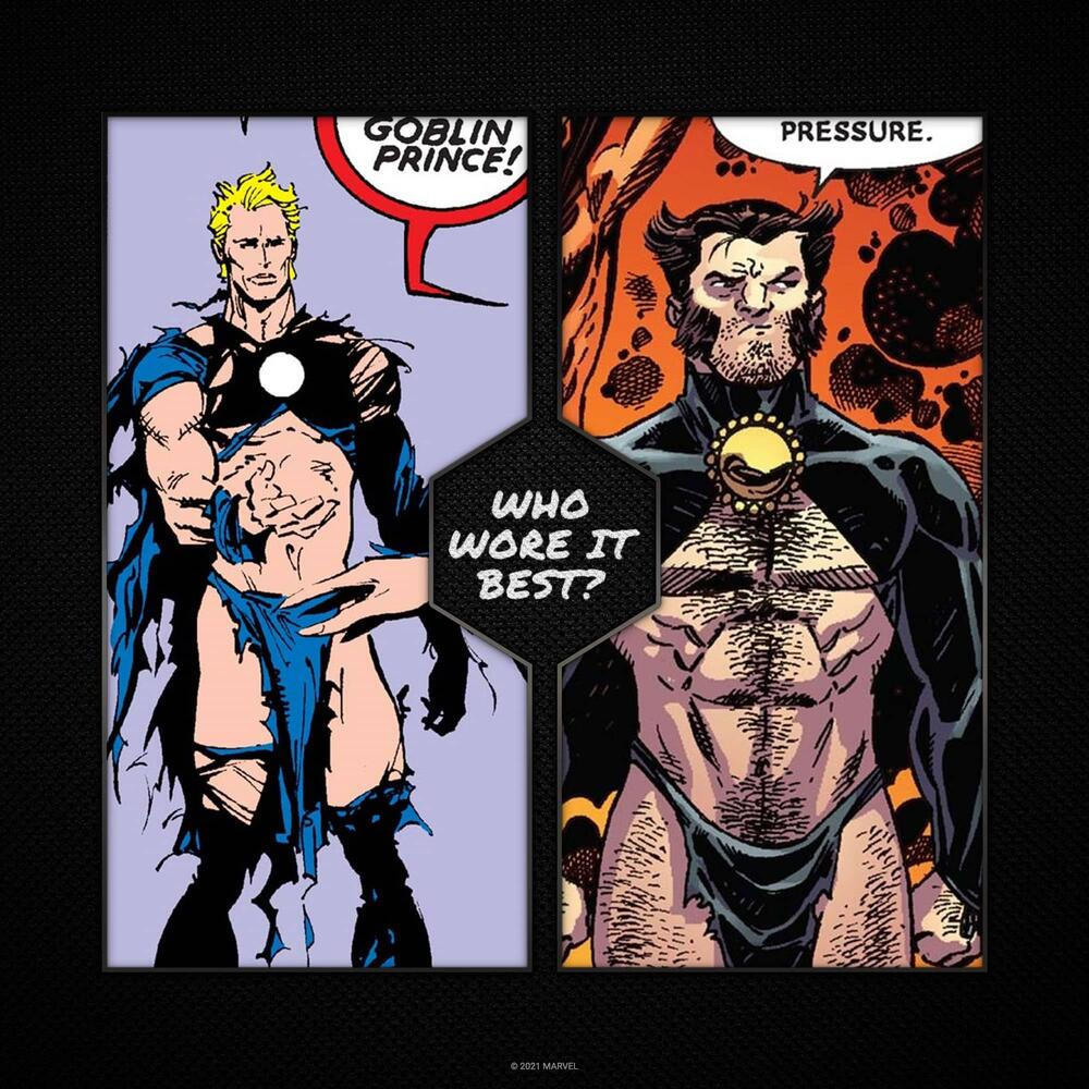 Havok and Wolverine as the Goblin Princes.