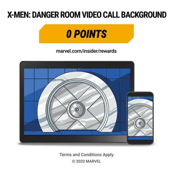 Marvel Insider Featured Reward X-Men Danger Room Digitial Wallpaper