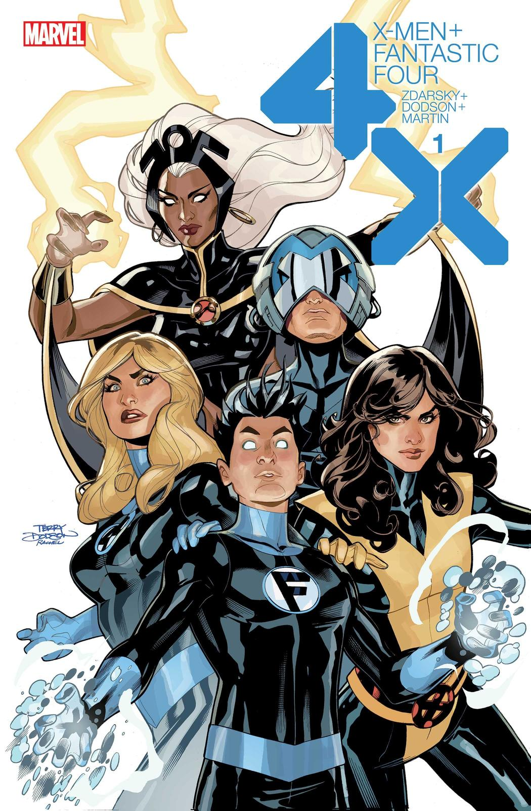 X-MEN/FANTASTIC FOUR #1 cover by Terry Dodson