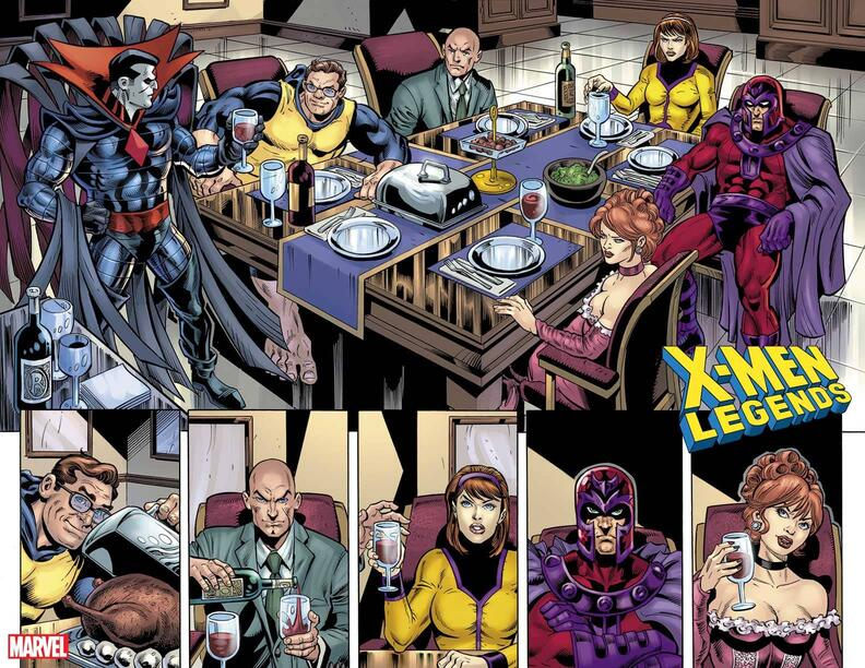 X-MEN LEGENDS #10 preview art by Dan Jurgens