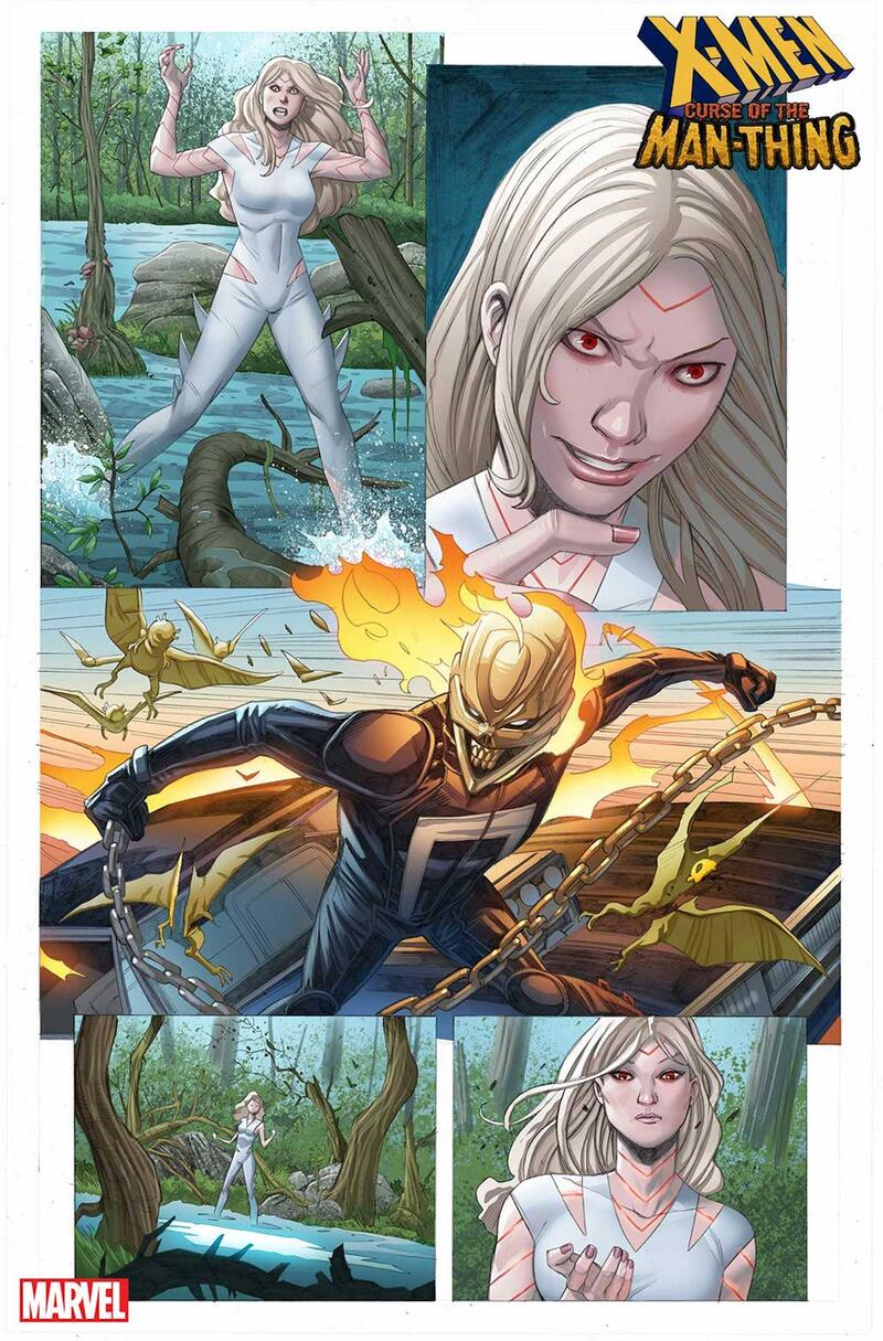 X-MEN: CURSE OF THE MAN-THING preview page