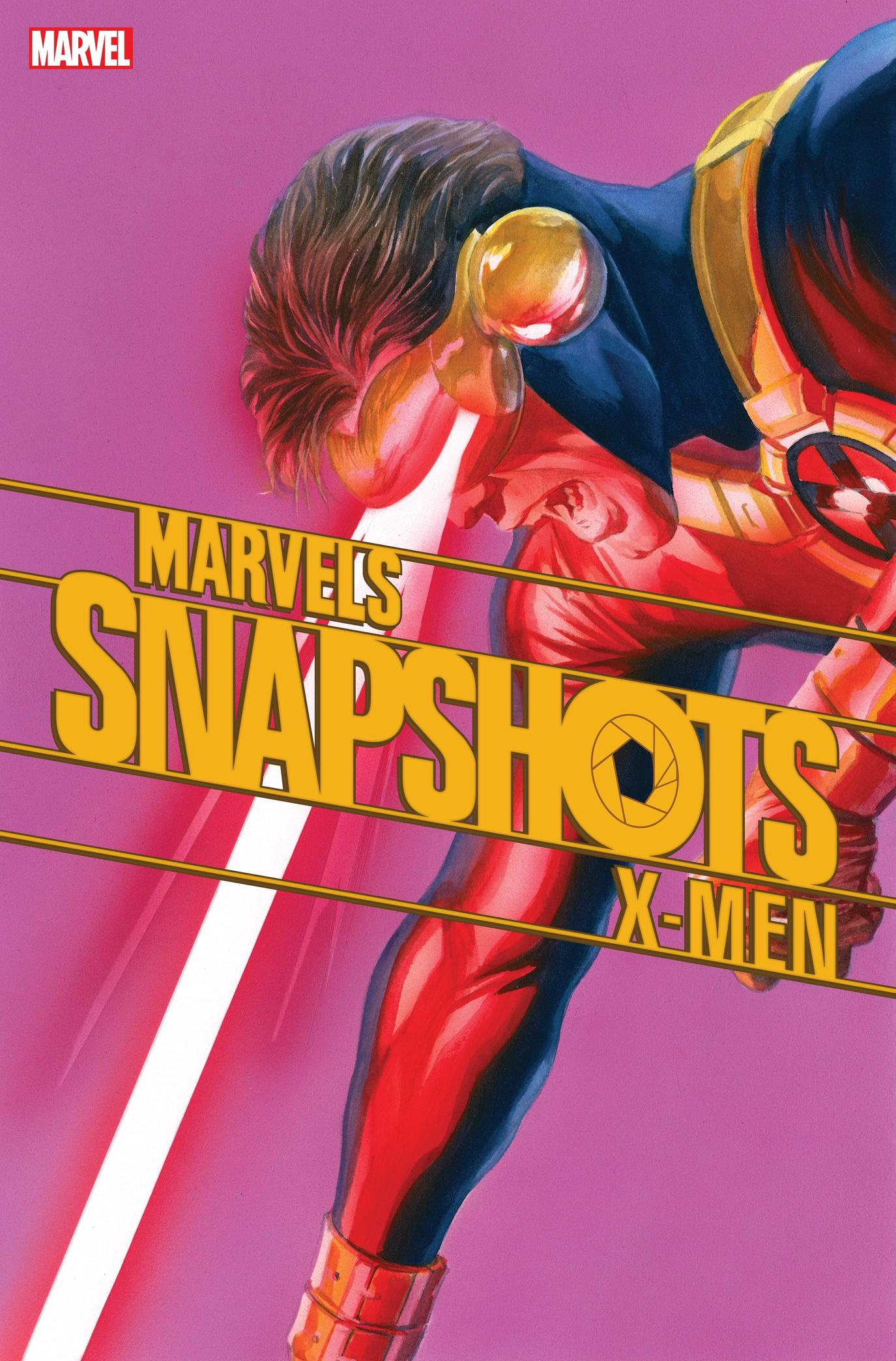 X-MEN: MARVELS SNAPSHOTS #1 cover by Alex Ross