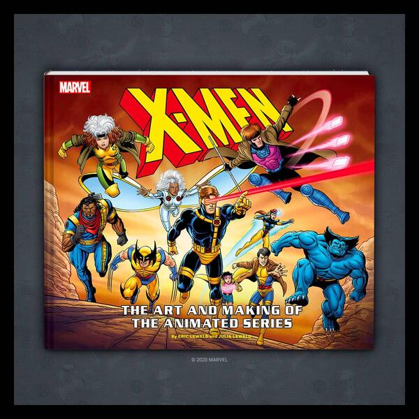 Marvel Insider X-MEN: THE ART AND MAKING OF THE ANIMATED SERIES GIVEAWAY  Enter for a chance to win a book