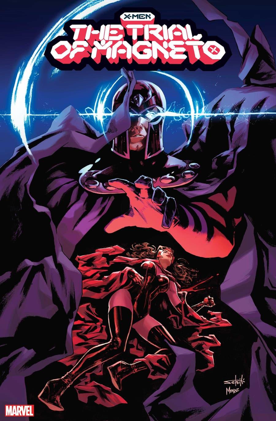 X-MEN: TRIAL OF MAGNETO #1 cover by Valerio Schiti