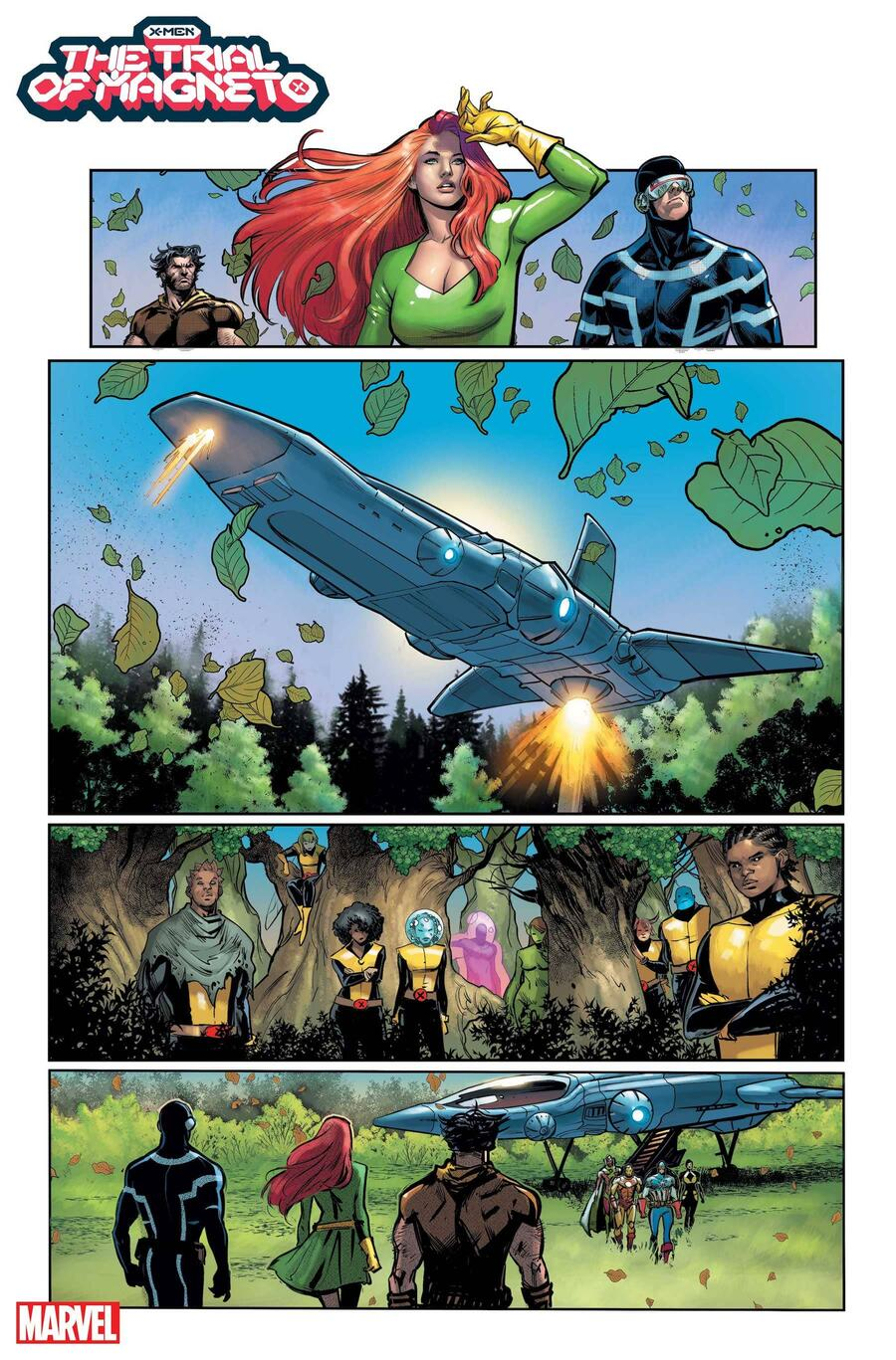 X-MEN: THE TRIAL OF MAGNETO #2 preview art by Lucas Werneck with colors by Edgar Delgado