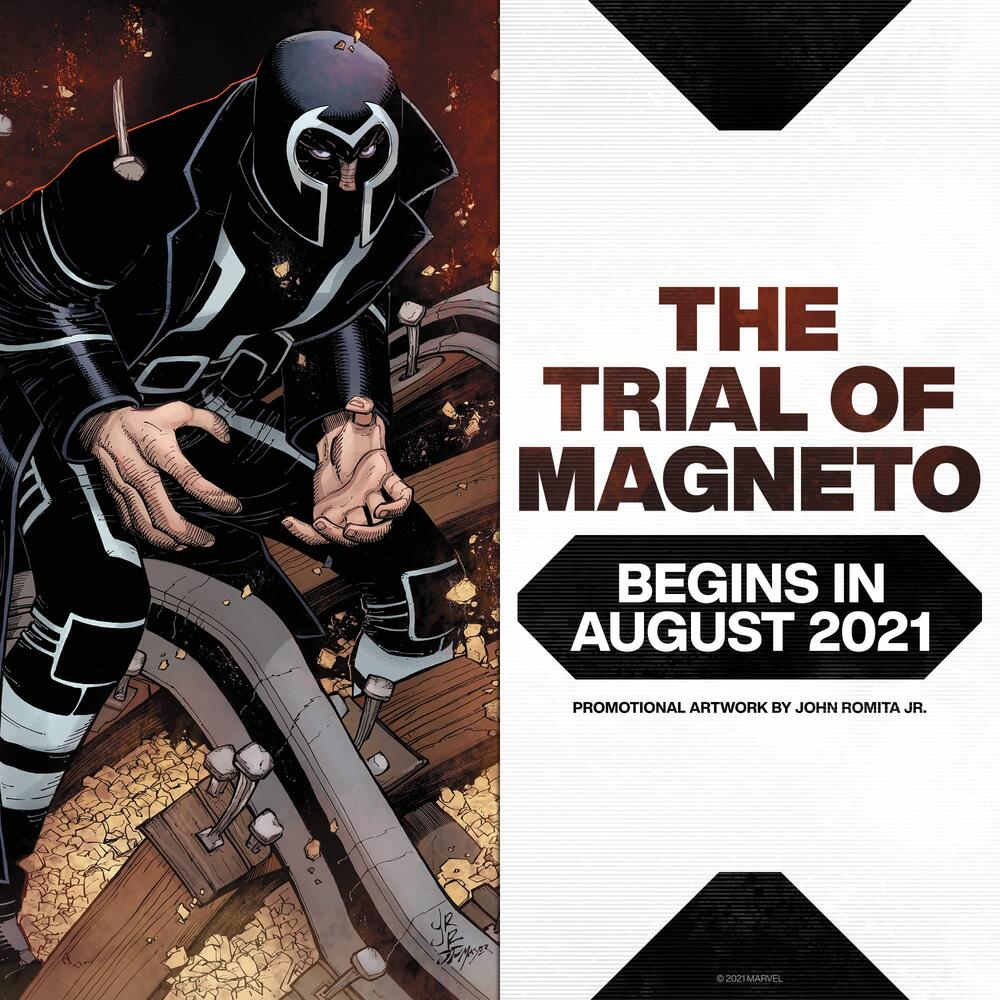 The Trial of Magneto; August 2021