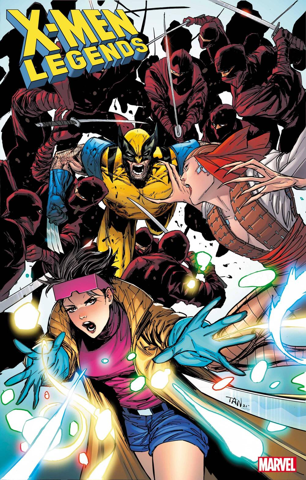 X-MEN LEGENDS #7 cover by Billy Tan