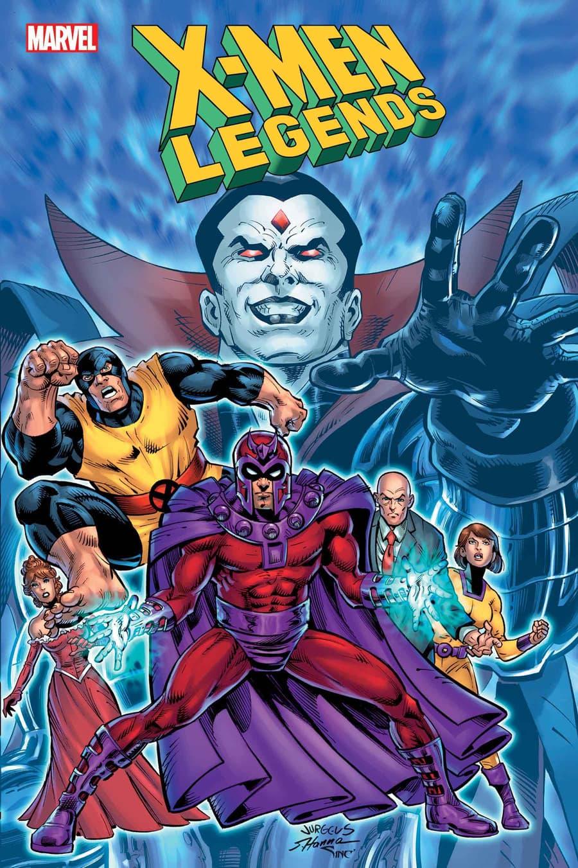 X-MEN LEGENDS #10 cover by Dan Jurgens