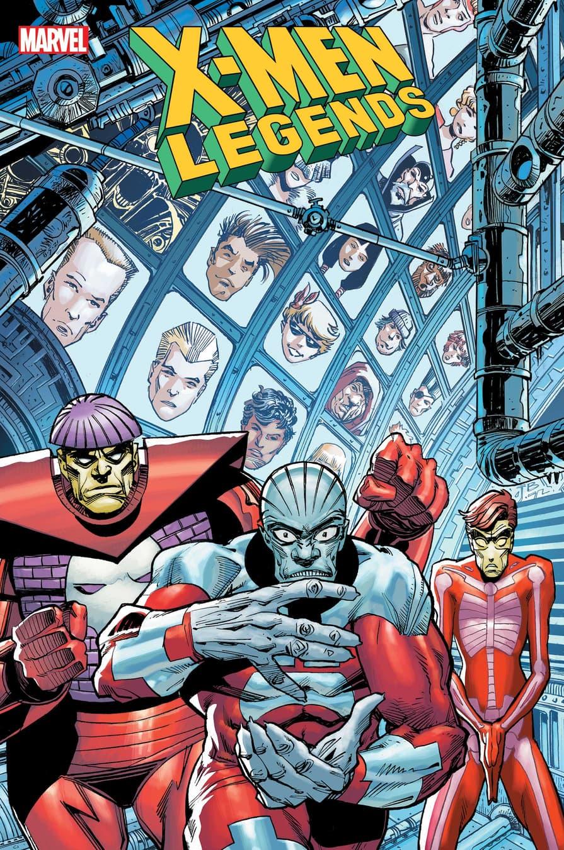 X-MEN LEGENDS #11 cover by Walter Simonson