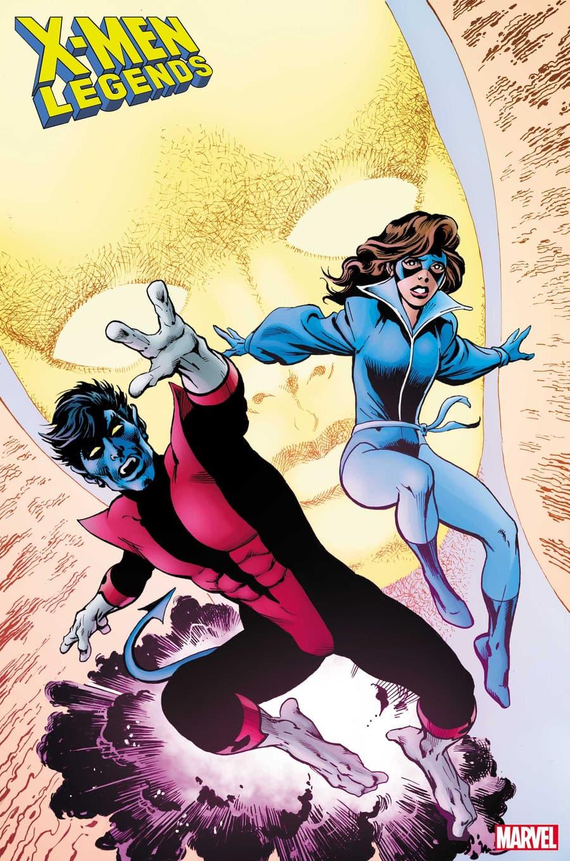 X-MEN LEGENDS #12 cover by Alan Davis