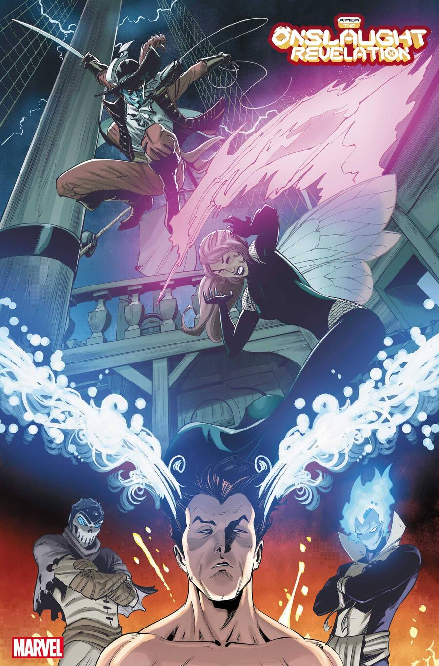 X-MEN: ONSLAUGHT REVELATION #1 preview art by Bob Quinn with colors by Java Tartaglia
