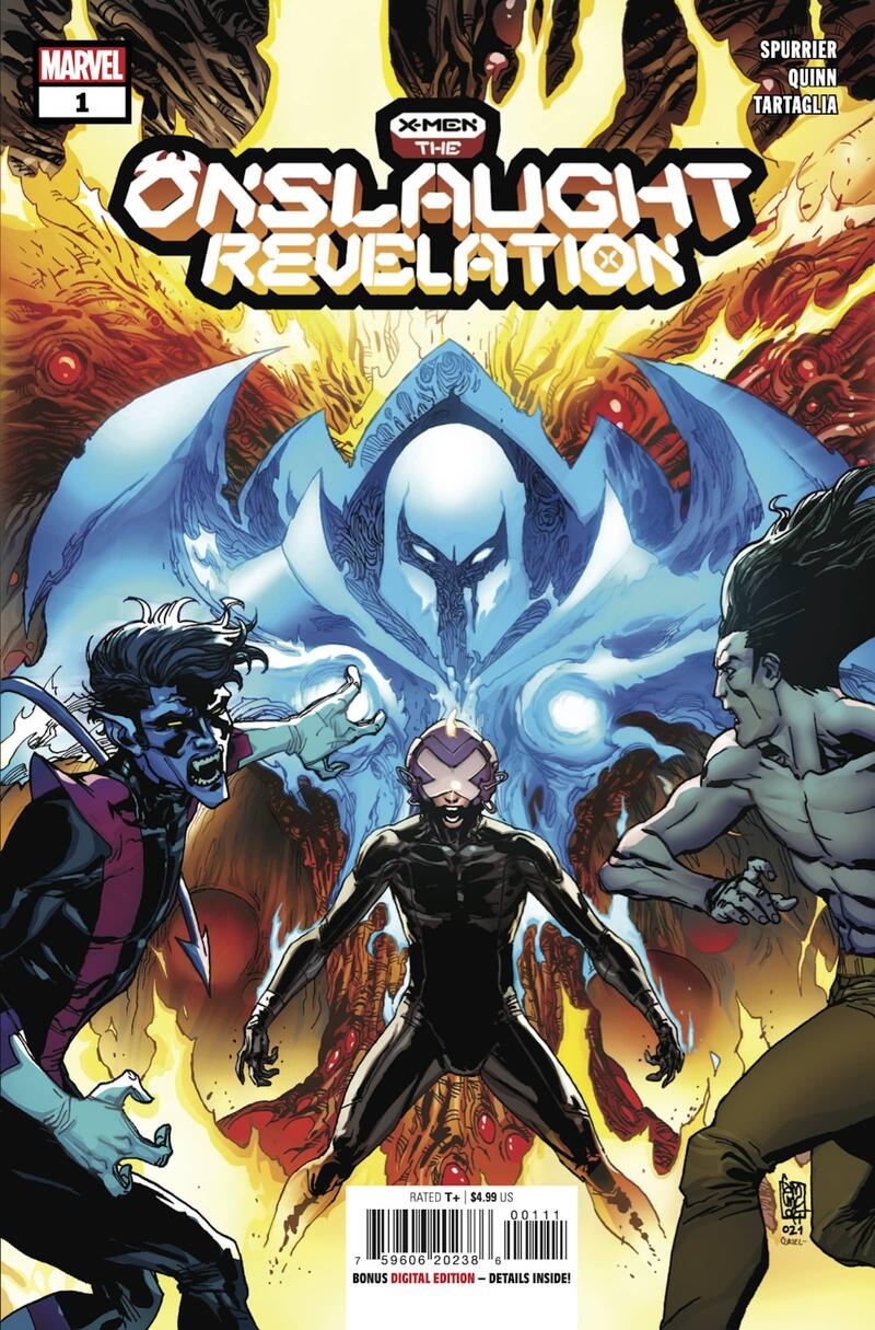 X-MEN: ONSLAUGHT REVELATION #1 cover by Giuseppe Camuncoli