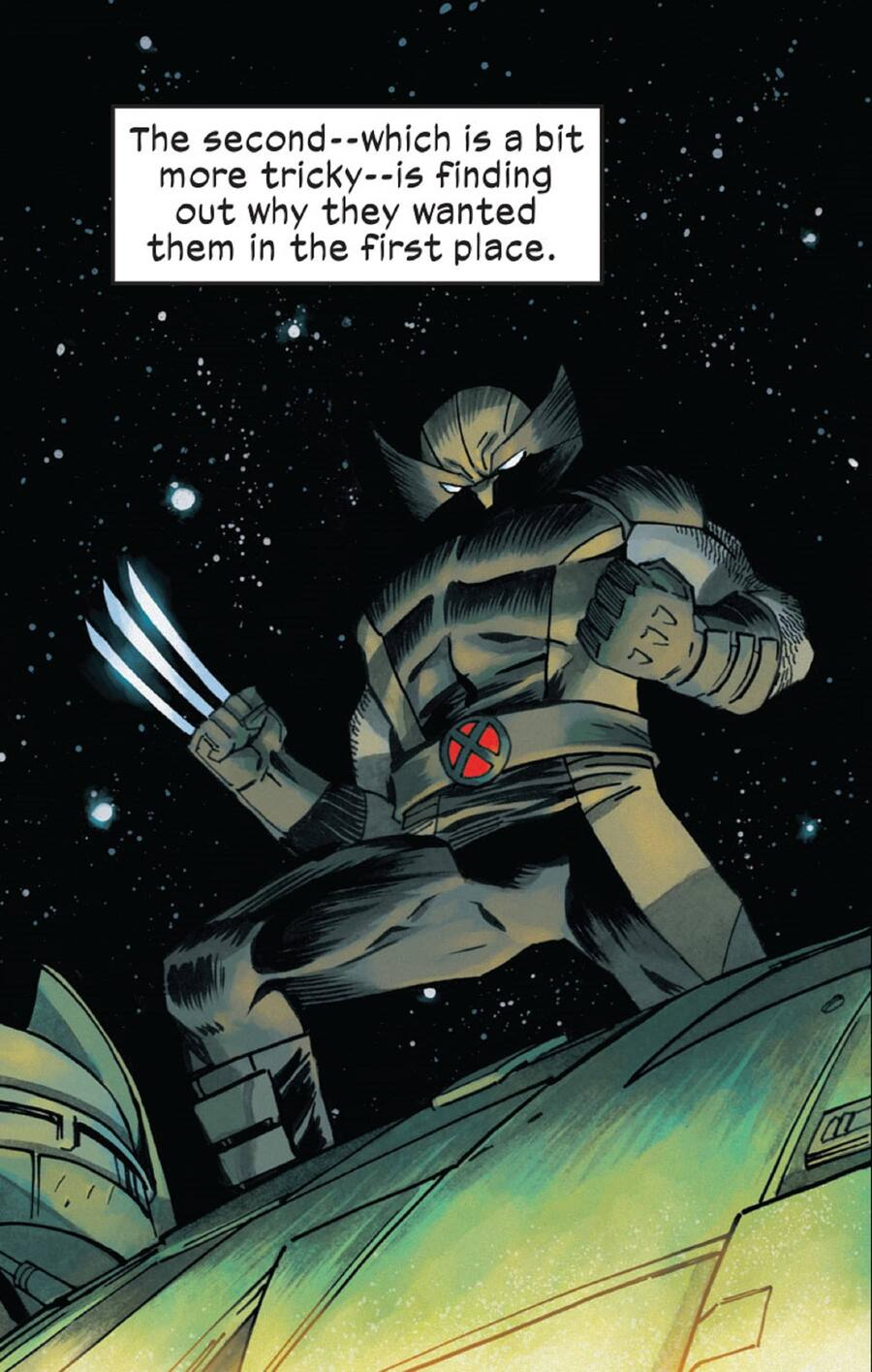 Sample art featuring art from X-MEN UNLIMITED #1.
