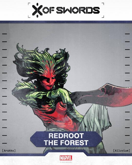 Redroot the Forest