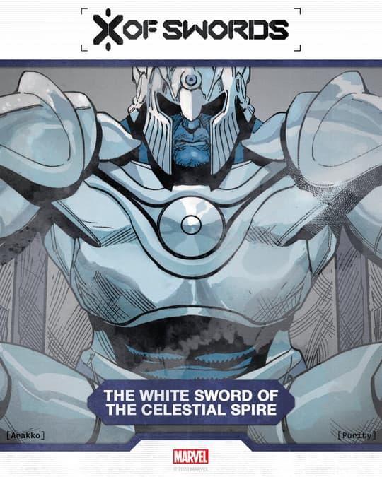 The White Sword of the CelestialSpire