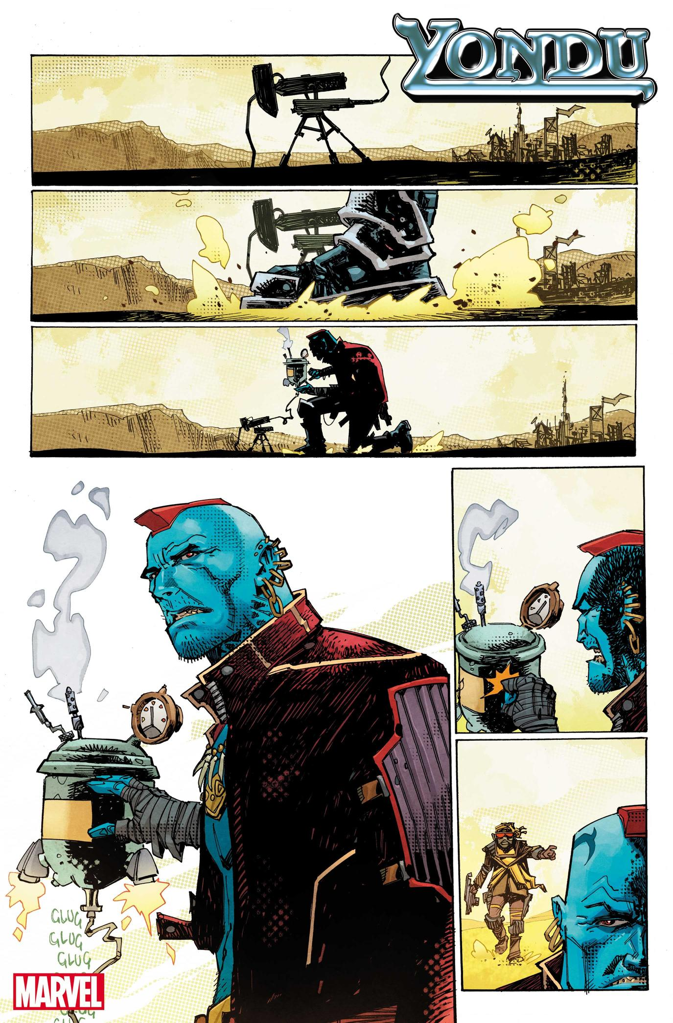 Preview art from Yondu #1