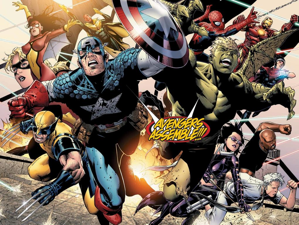 Young Avengers and Avengers