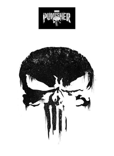 Marvels The Punisher Skull Template