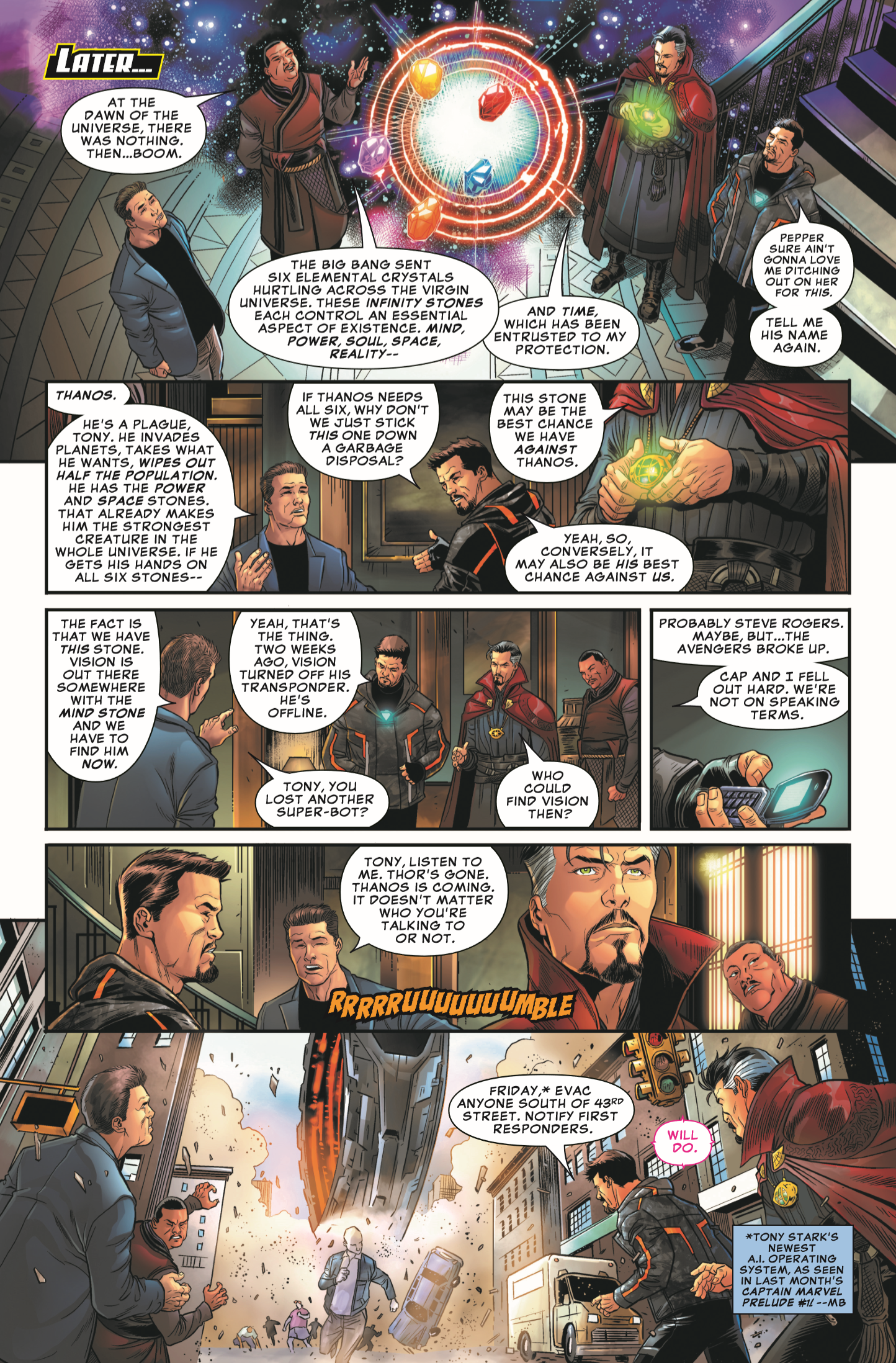 Marvel's Avengers: Untitled Prelude Comic