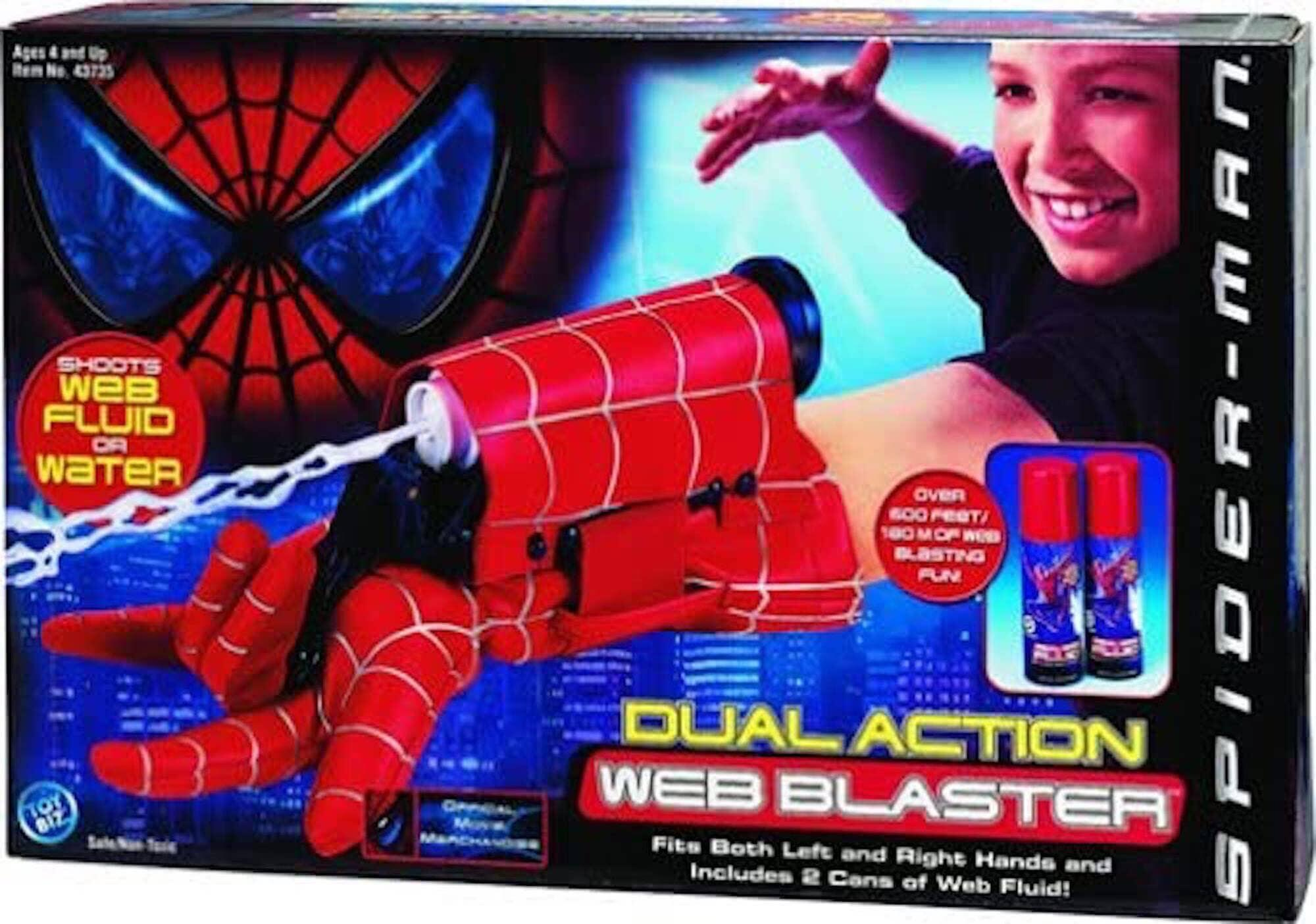 Marvel Spider-Man Web Blasters Web Shooters Toy
