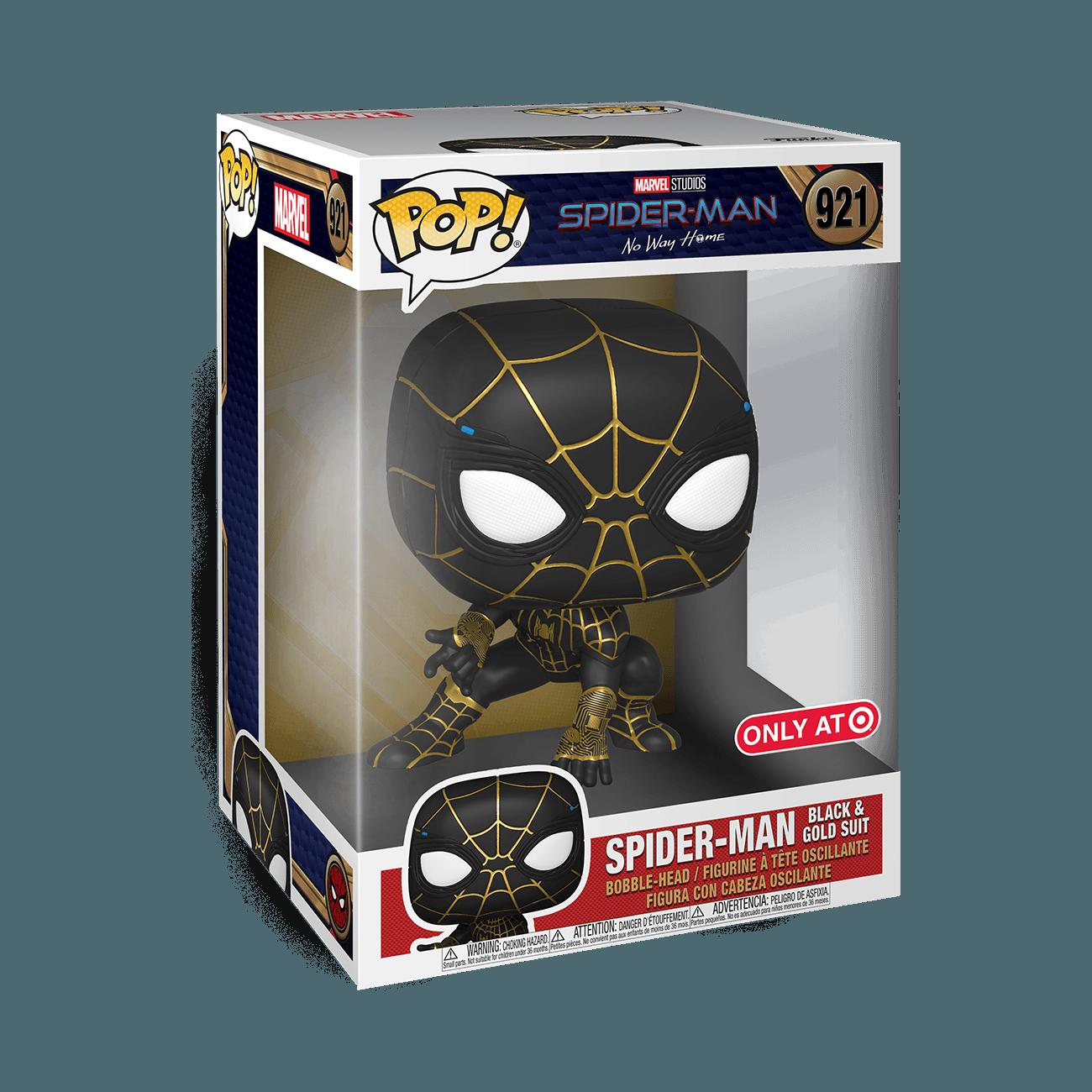 'Spider-Man: No Way Home' Funko - Black & Gold Suit (Target Exclusive)