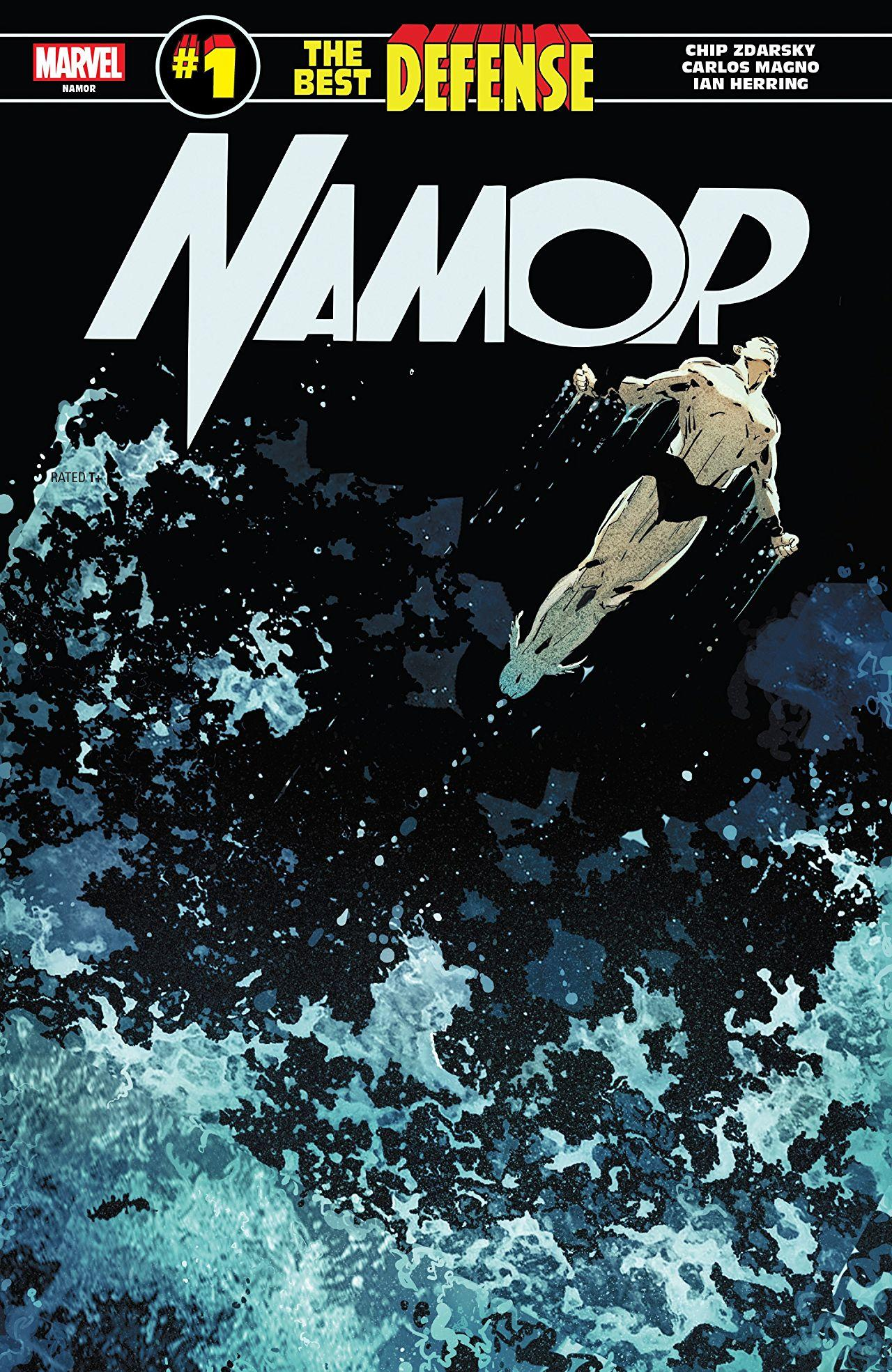 Namor: The Best Defense #1cover by Ron Garney