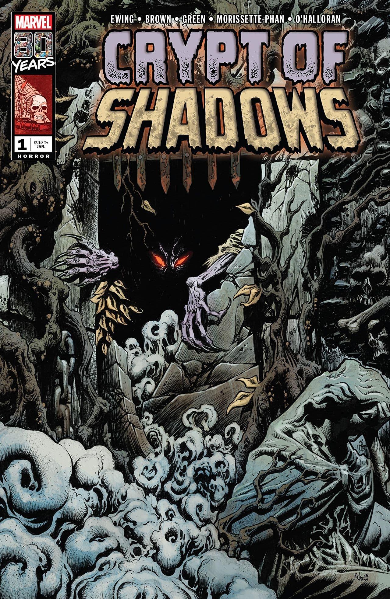 CRYPT OF SHADOWS #1