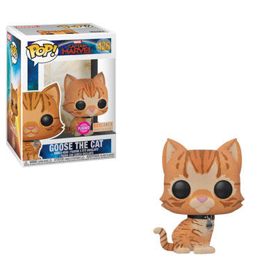 BoxLunch Pop! Goose the Cat Flocked