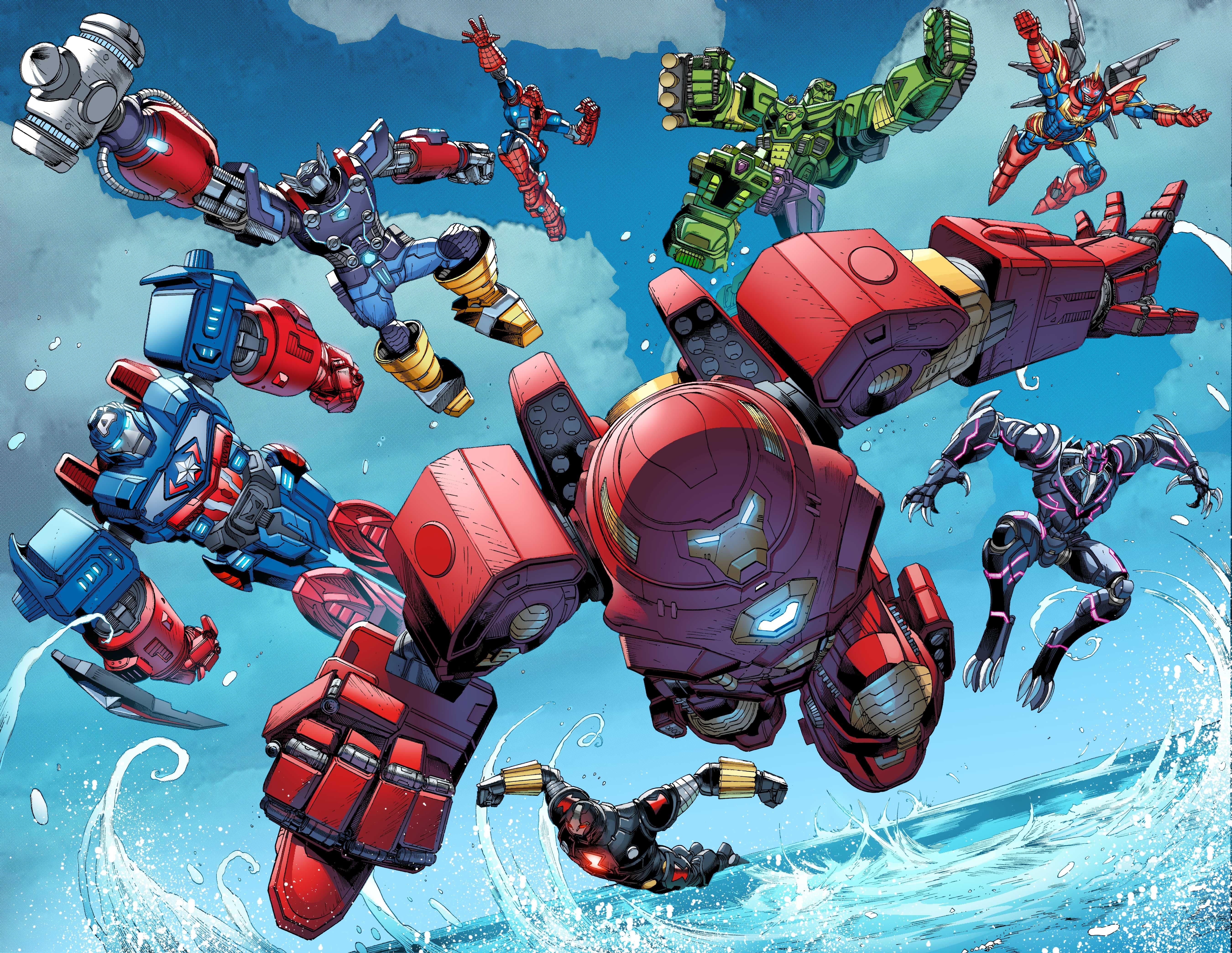 Avengers Mech Strike Jed McKay Bullpen Bulletins