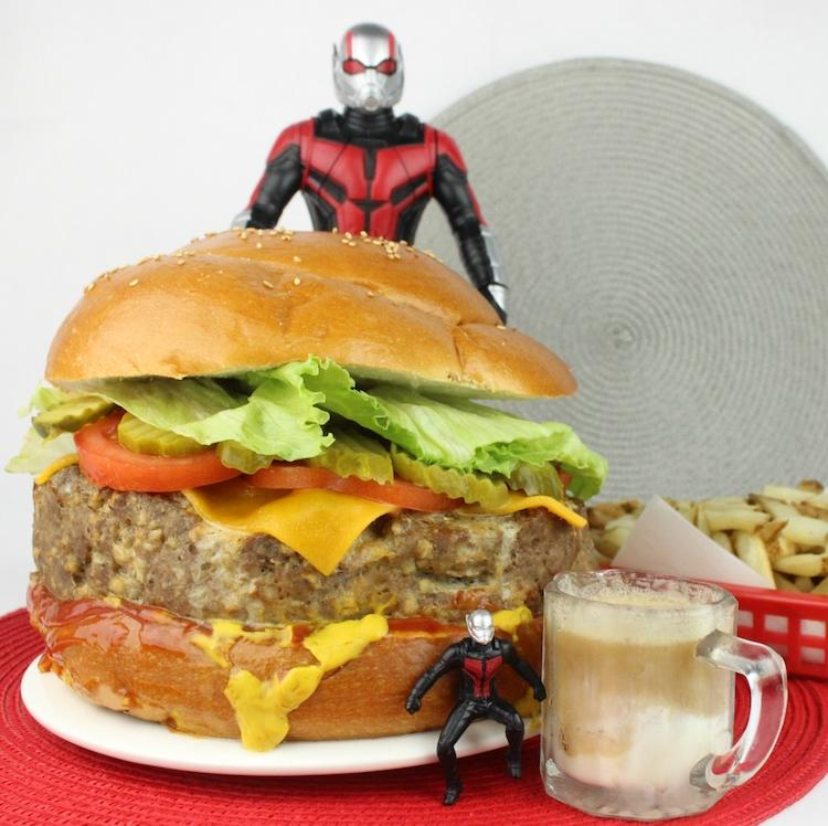 Ant-Man Giant-Man burgers