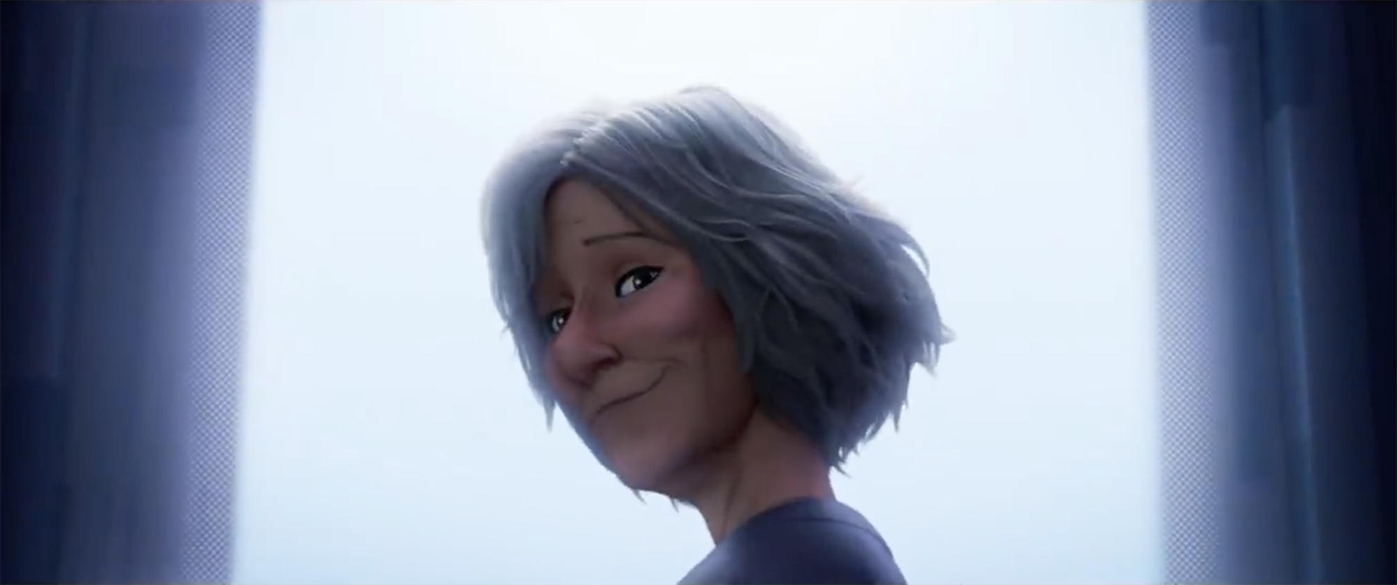 "Aunt May in ""Spider-Man: Into the Spider-Verse"""