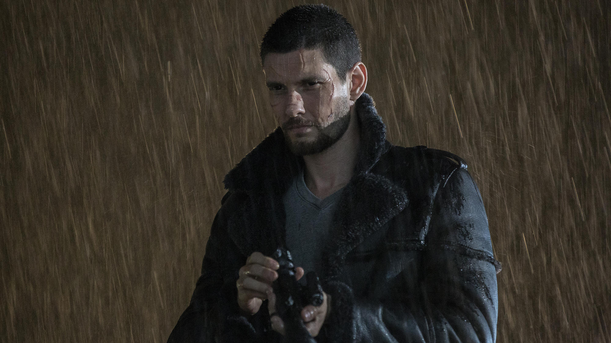 """Ben Barnes as Billy Russo in """"Marvel's The Punisher"""""""