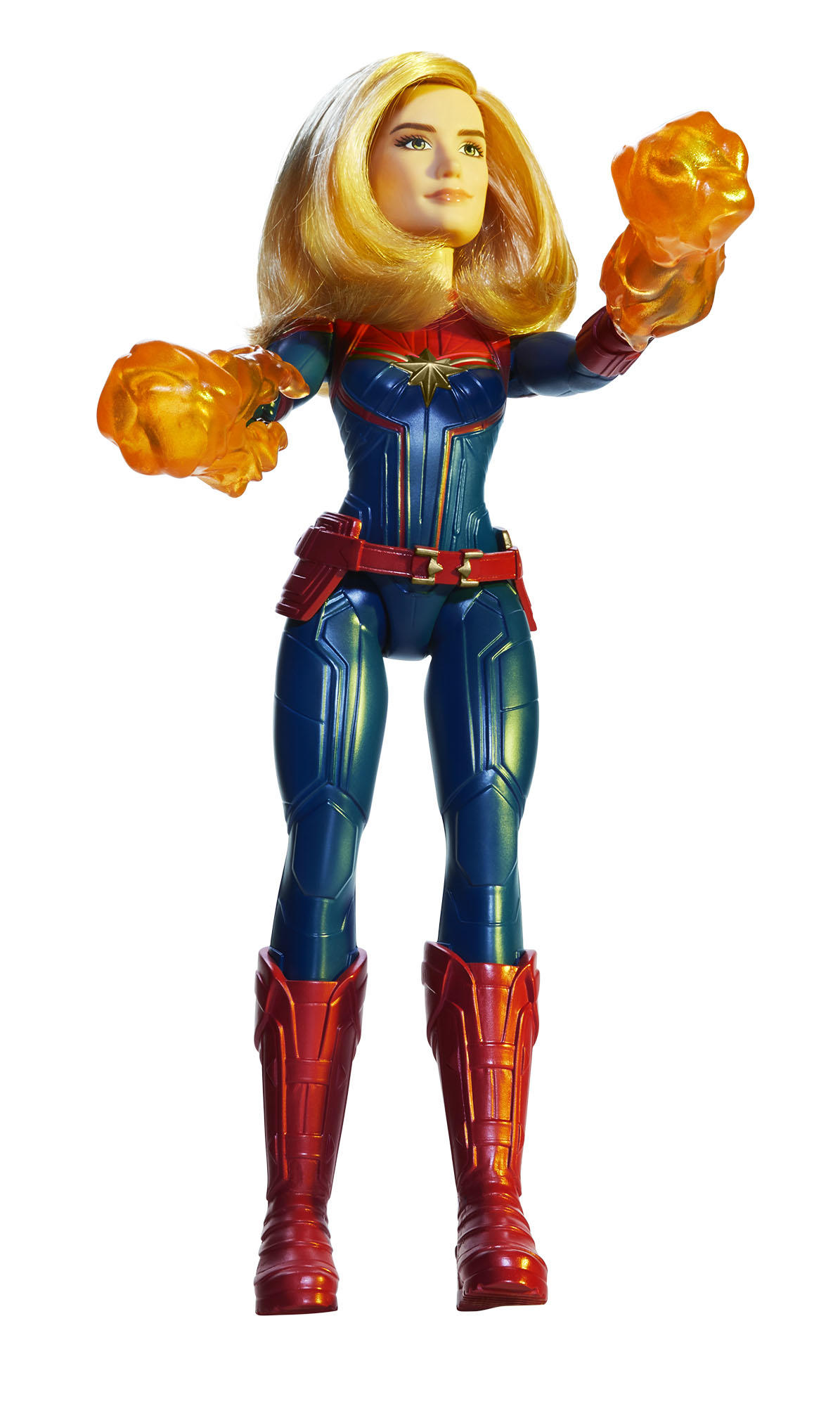 """CAPTAIN MARVEL"" MOVIE COSMIC CAPTAIN MARVEL DOLL"