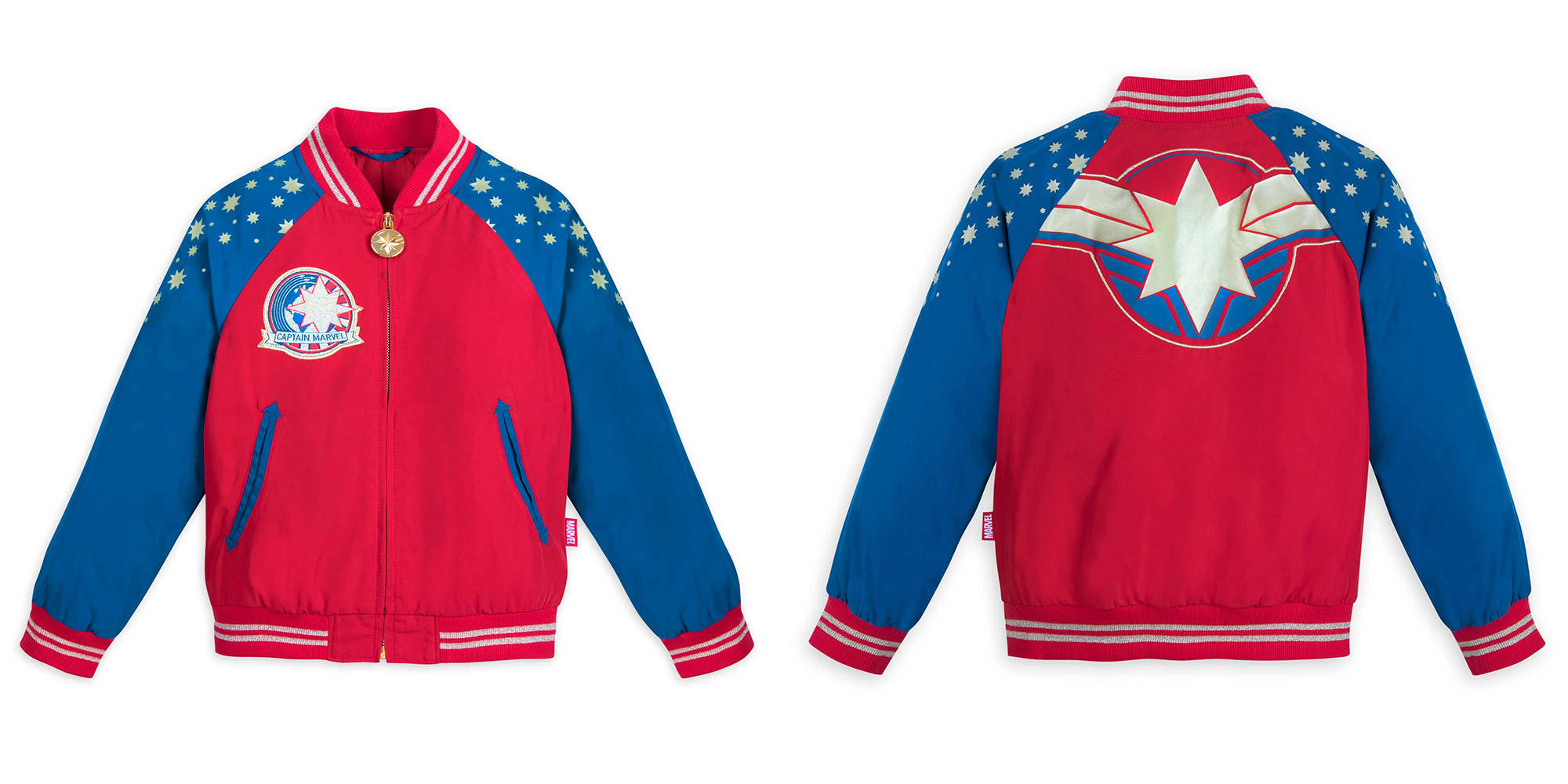 Captain Marvel Kids Jacket